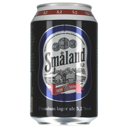 Smaland Premium Lager 5,2% 24 x 0,33 ltr.