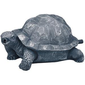 Oase Schildkröte Wasserspeier, grau