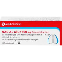 NAC AL akut 600 mg Brausetabletten 10 St.