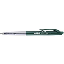 Niceday Kugelschreiber RBM1.0 0.5 mm Grün 10 Stück
