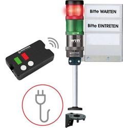 Werma Signaltechnik Zutrittskontrolle SignalSET Funk 64919101 Zugangskontrolle, fernbedienbar 1 Set