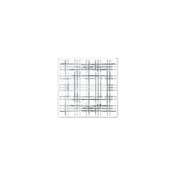 Nachtmann Servierplatte Square Geschirr Platte 28 cm klar quadratisch, Glas, (1-tlg)