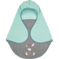 Sterntaler Einschlagdecke Emmi, mit Gurtschlitz grün Kinder Kinderdecken Decken