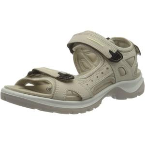 ECCO Damen Offroad Flat Sandal, Beige(Limestone), 39 EU