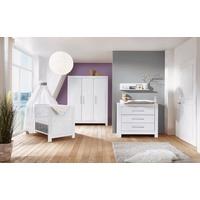 Schardt Kinderzimmer Nordic White 3-tlg. mit 3-türigem Schrank