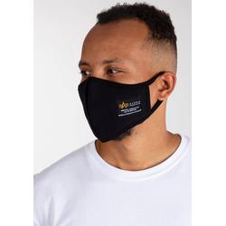 Alpha Industries Mund-Nasen-Masken, (1-tlg) schwarz