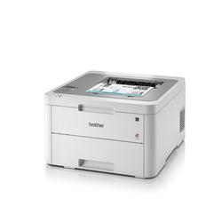 Brother Farblaser-Drucker HL-3210CW Farb-LED-Drucker grau