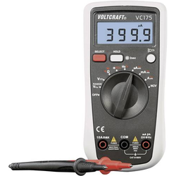 VOLTCRAFT VC175 Hand-Multimeter kalibriert (ISO) digital CAT III 600V Anzeige (Counts): 4000