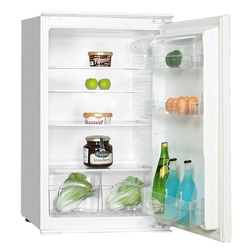 PKM Einbaukühlschrank KS 130.0A+ EB, 87 cm hoch, 54 cm breit, Vollraumkühlschrank Schleppscharnier 130 L A+