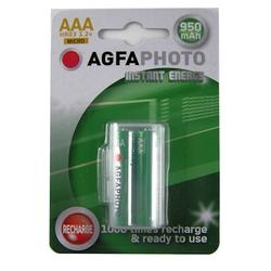 AgfaPhoto Akku AAA HR03 950 mAh (2 Stück)