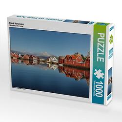 Fjord Norwegen Lege-Größe 64 x 48 cm Foto-Puzzle Bild von Johann Schörkhuber Puzzle