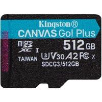 Kingston microSDXC Canvas Go! Plus 512GB Class 10 UHS-I A2 V30