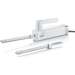 Graef Elektromesser EK 501 mit 2 Messern, weiß, 150 W