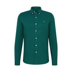 FARAH Herren Hemd grün, Größe S, 5117068
