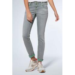 SOCCX Slim-fit-Jeans mit Turn-Up Saum 28