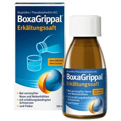 BOXAGRIPPAL Erkältungssaft 100 ml