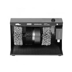 FINEBUY Schuhputzmaschine FineBuy Schuhputzmaschine automatisch mit 3 Bürsten System elektrisch Schuhputzautomat hoher Comfort Schuhputzer Schuh Poliermaschine mit Gummimatte