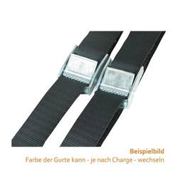 Gurtklemmen-Zurrgurt 25 mm x 0,5 m, 250 daN / Set a 2 Stück