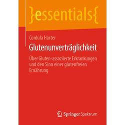 Glutenunverträglichkeit als Buch von Cordula Harter