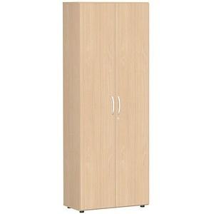 geramöbel Flex Garderobenschrank buche/buche