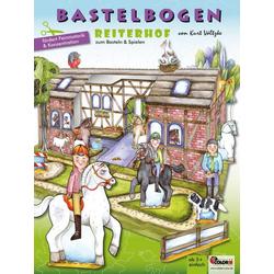 Reiterhof Bastelbogen