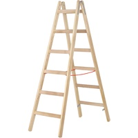 Holz-Sprossenstehleiter 7141020
