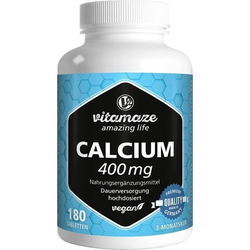 Calcium 400 mg vegan