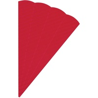 folia 3D-Welle 68 cm rot 5 Stück