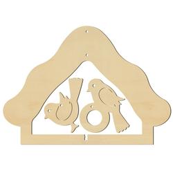 Fenstersticker Futterhäuschen, VBS, 17,2 cm x 12,2 cm
