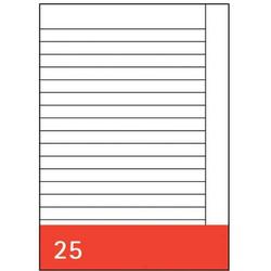 Kanzleipapier A3 10 Blatt liniert mit Rand RC