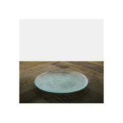 """the way up Geschirr Teller """"Sofia"""" 20 cm aus Recycling-Glas (100 % Altglas)"""