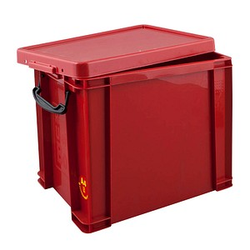 Really Useful Box Aufbewahrungsbox 19,0 l rot 39,5 x 25,5 x 29,0 cm