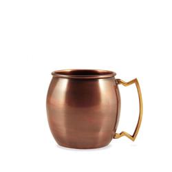 Kupferbecher antique gebürstet 0,3L