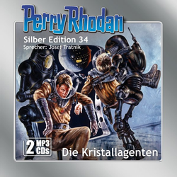Perry Rhodan Silber Edition 34 - Die Kristallagenten als Hörbuch CD von William Voltz/ H. G. Ewers/ K. H. Scheer/ Kurt Maar