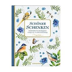 Geschenkpapier-Buch - Schöner schenken - M. Bastin