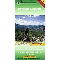 Zittauer Gebirge 1 ; 25 000 - Buch