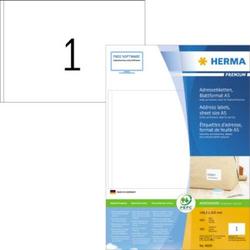 Herma 8690 Etiketten 148.5 x 205mm Papier Weiß 400 St. Adress-Etiketten, Universal-Etiketten Tinte,