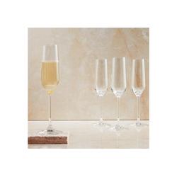 BUTLERS Champagnerglas SANTÉ 6 x Champagnerflöte 180 ml