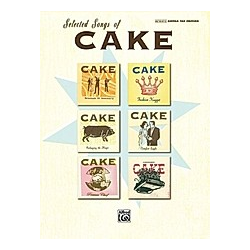 Selected Songs of Cake  Guitar. Cake  - Buch