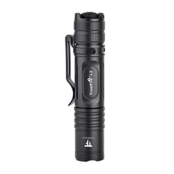 Trustfire LED Taschenlampe L2 (ohne Akku), Taktische LED Taschenlampe IPX8 EDC Licht Innen Außen