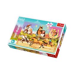 Trefl Puzzle Puzzle 160 Teile - Spirit: wild und frei, Puzzleteile