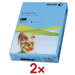 2x Farbiges Papier »Symphony« blau, Xerox