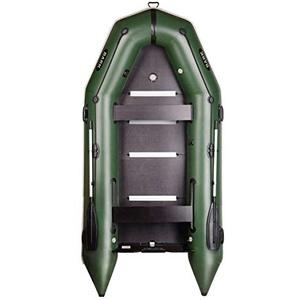 BARK Profi Schlauchboot für Motor mit Kiel u. Festenboden Schwerlastbetrieb Paddelboot Angelboot Freizeitboot Motorboot fünfschichtig PVC