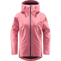 Haglöfs - Lumi Jacket Women Tulip Pink - Skijacken - Größe: S