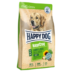 (2,90 EUR/kg) Happy Dog NaturCroq Lamm & Reis 4 kg