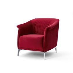 Sessel ID 210 rot, Designer Indomo, 75x78x83 cm
