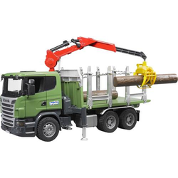 Bruder SCANIA R-Serie Holztransport LKW 3524