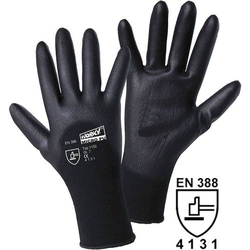 Worky L+D MICRO black2 1152 Nylon Arbeitshandschuh Größe (Handschuhe): 11, XXL EN 388 CAT II 1 Paa