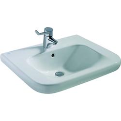 Ideal Standard Waschtisch CONTOUR 21 unterfahrbar 650 x 555 x 175 mm weiß