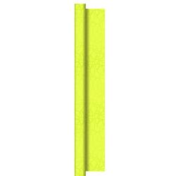 Duni Dunisilk+ Tischdecke Rolle 25x1,20m Circuits kiwi - 2x1 Stück